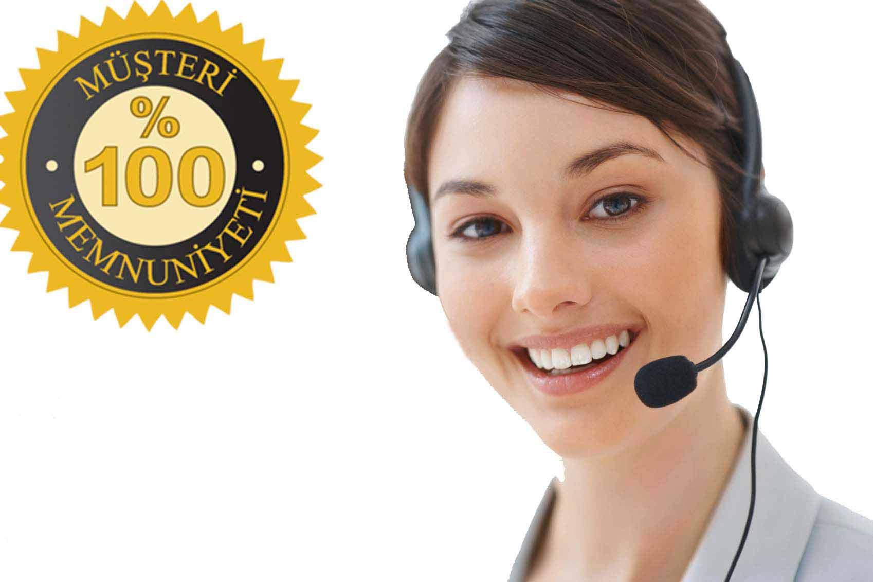 müşteri hizmetleri kadın resmi